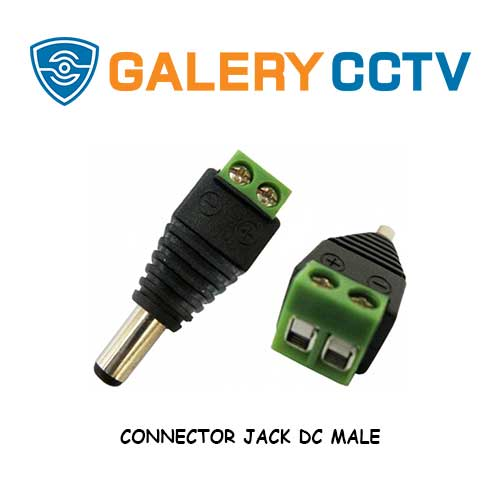 CONNECTOR JACK DC MALE & FEMALE